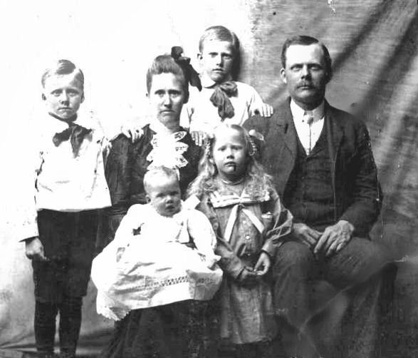 George Donnel McSpadden and Elizabeth Ann Witcher Family