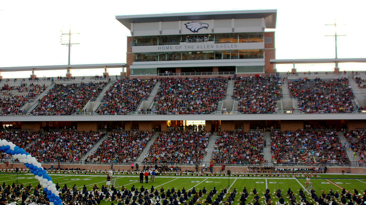 Image result for allen football stadium