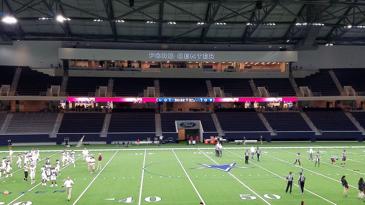 Ford Center At The Star Frisco Texas