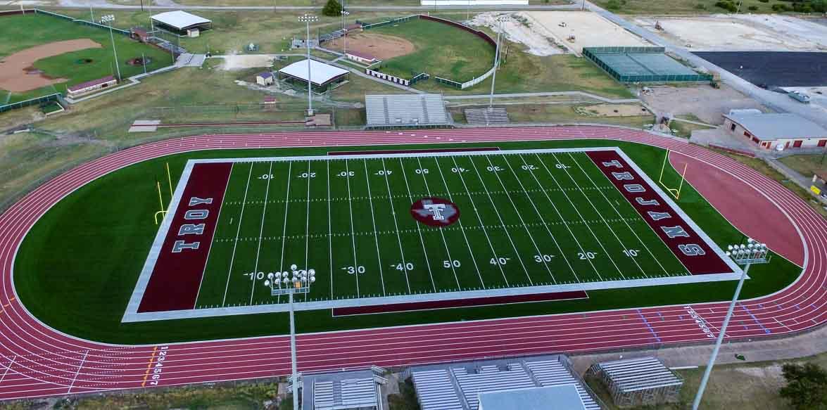 Trojan Stadium - Troy, Texas