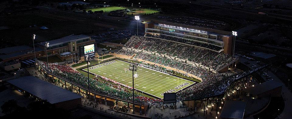 Apogee Stadium Denton Texas