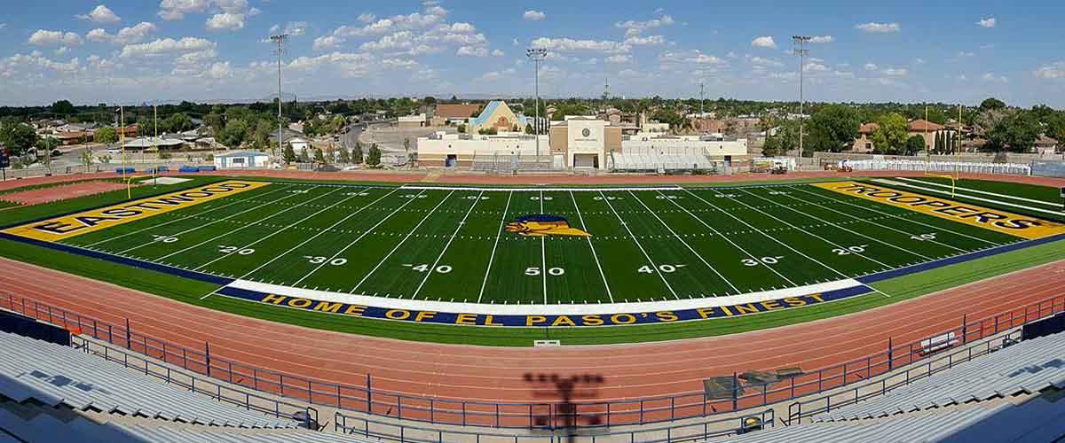 Trooper stadium el paso texas for Eastwood high school swimming pool
