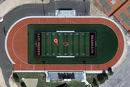 Bearkat Stadium - Garden City, Texas