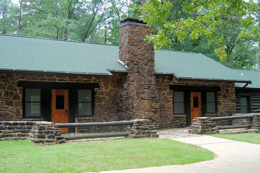 One Of The Many Cabins At Caddo Lake State Park