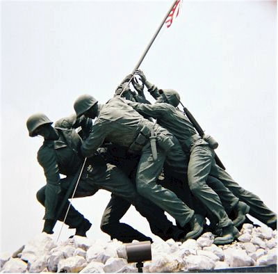 Iwo Jima Monument - Harlingen, Texas