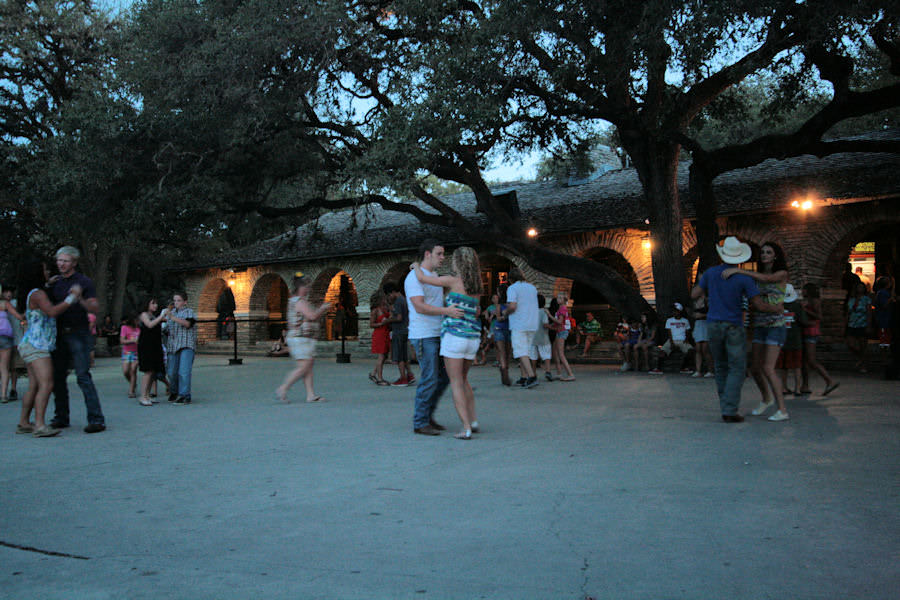 The dance at garner state park for 1234 lets on the dance floor