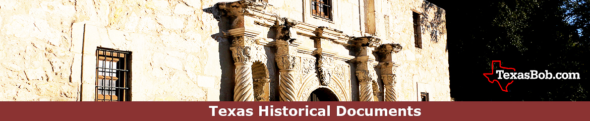 Texas Historical Documents